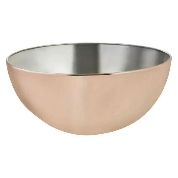 Oferta de Bowl de Inox Bronze Mimo 24cm por R$70,9