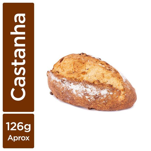 Oferta de Pão de Castanha-do-Pará Pequeno Mr Baker por R$7,29