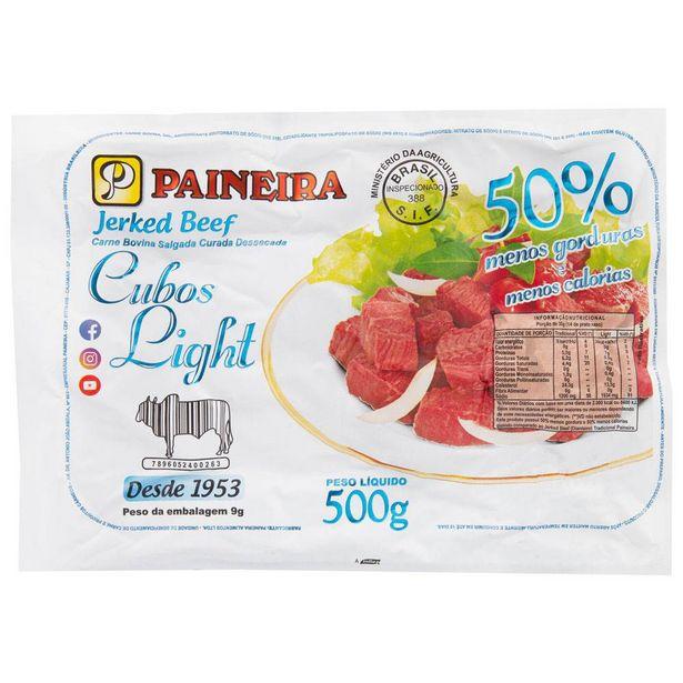 Oferta de Carne Seca em Cubos Light Paineira 500g por R$36,9