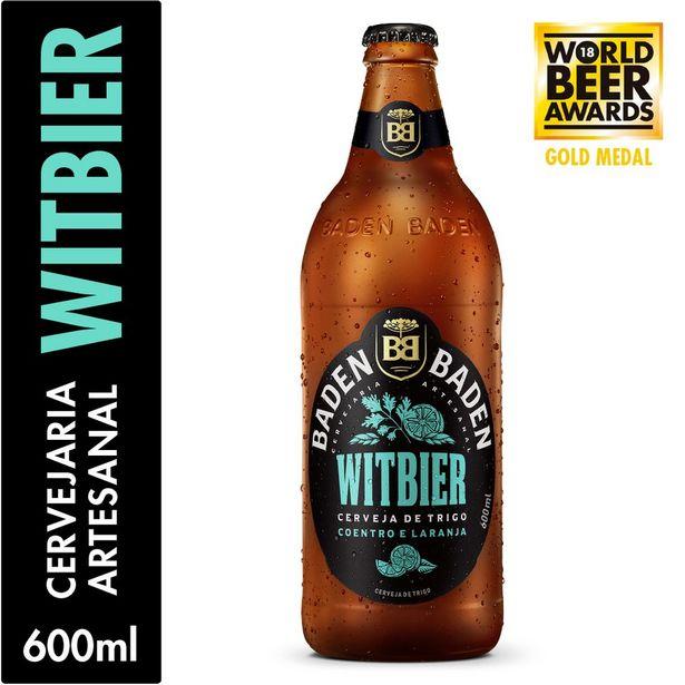Oferta de Cerveja Baden Baden Witbier Garrafa 600ml por R$10,99