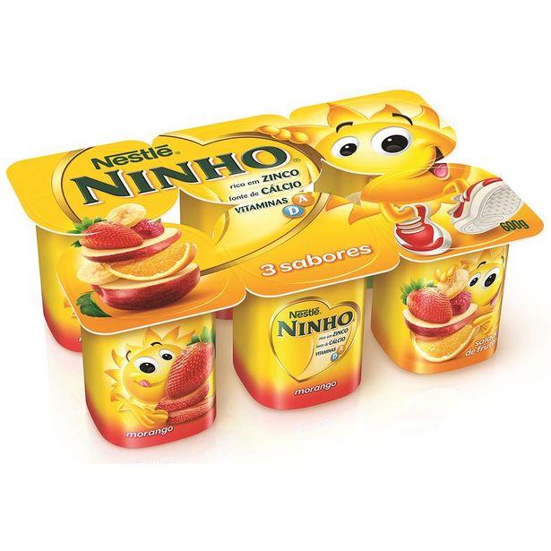 Oferta de Iogurte de Polpa com Três Sabores Ninho 600g por R$6,99