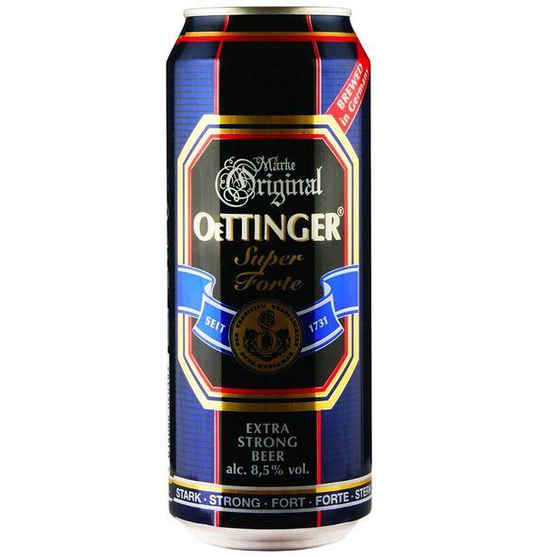 Oferta de Cerveja Alemã Oettinger Extra Strong Lata 500ml por R$15,9