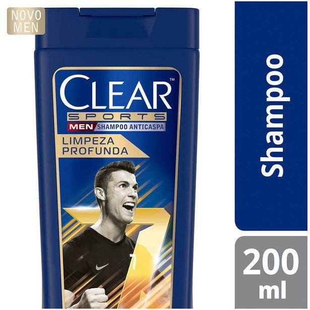 Oferta de Shampoo Limpeza Profunda Clear 200ml por R$19,9
