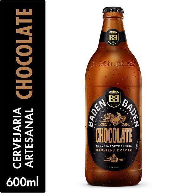 Oferta de Cerveja Forte Escura Chocolate Baden Baden 600ml por R$18,75