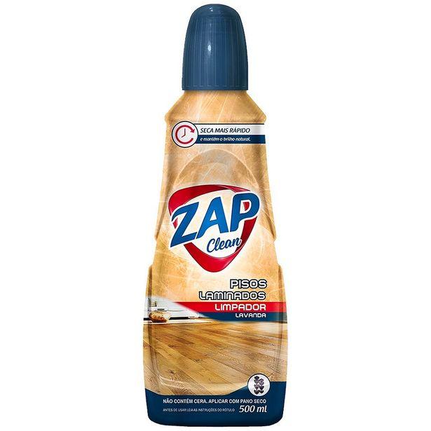 Oferta de Limpa Carpete Líquido Zap Clean 500ml por R$9,39