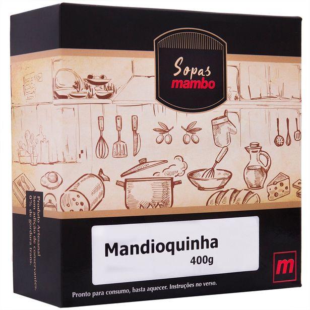 Oferta de Sopa de Mandioquinha Mambo 400g por R$25,9