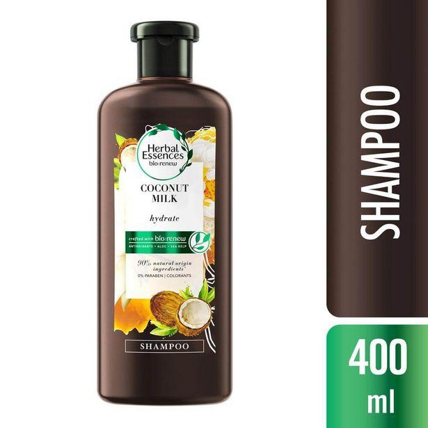 Oferta de Shampoo Leite de Coco Herbal Essences 400ml por R$40,75