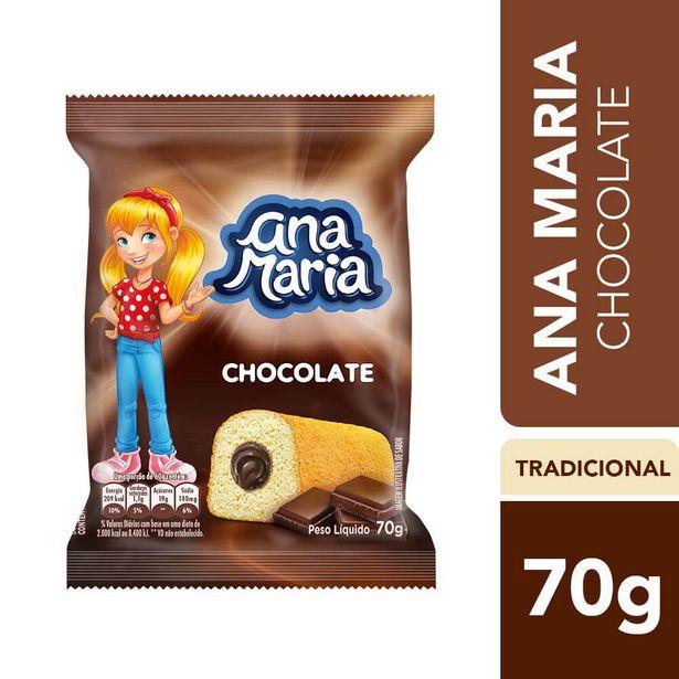 Oferta de Bolo de Chocolate Ana Maria 70g por R$3,39