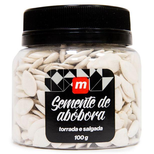 Oferta de Semente de Abóbora Torrada e Salgada Mambo 100g por R$10,9
