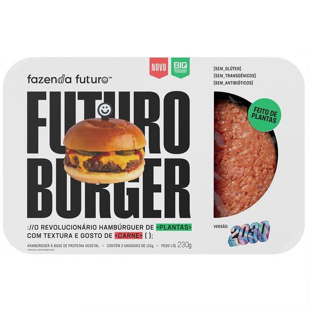 Oferta de Hambúrguer de Plantas Futuro Burger 230g por R$18,89