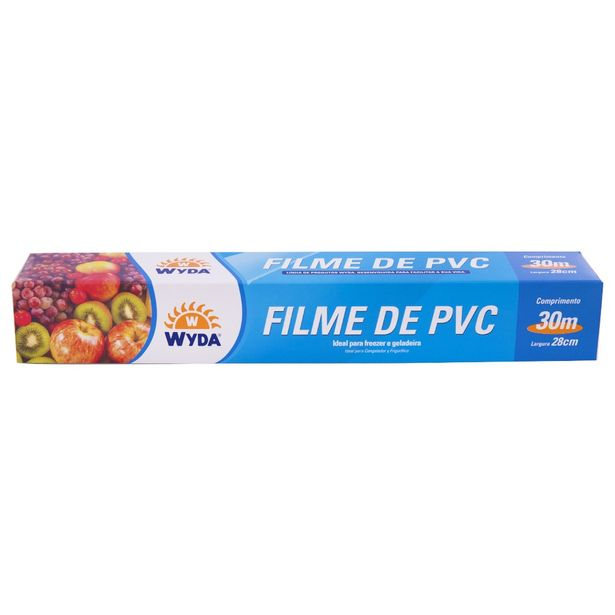 Oferta de Filme PVC Wyda  28cm x 30cm por R$7,99