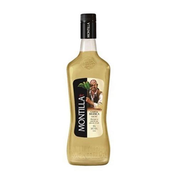 Oferta de Rum Nacional Montilla Carta Branca 1L por R$24,9