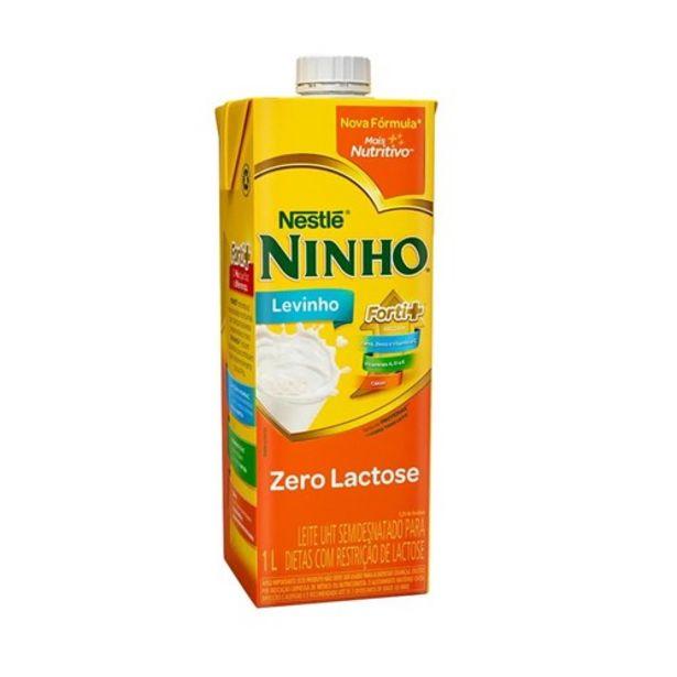 Oferta de Leite Ninho Zero Lactose Levinho 1L por R$5,39