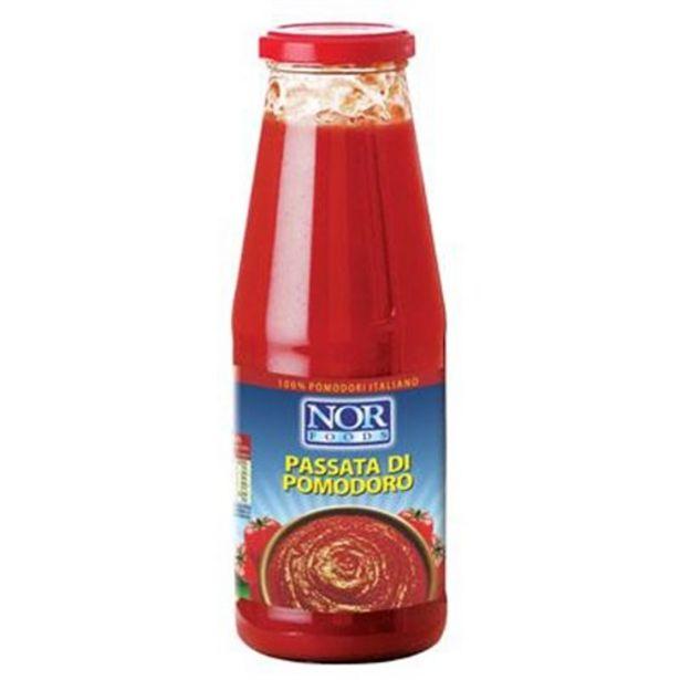 Oferta de Passata Di Pomodoro Nor Foods Embalagem 680G por R$11,99