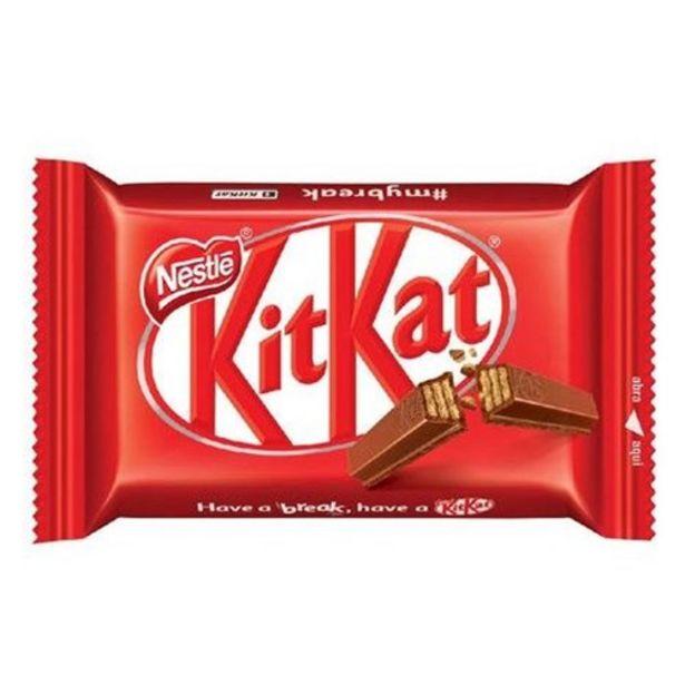 Oferta de Chocolate Kitkat 41,5G por R$3,39