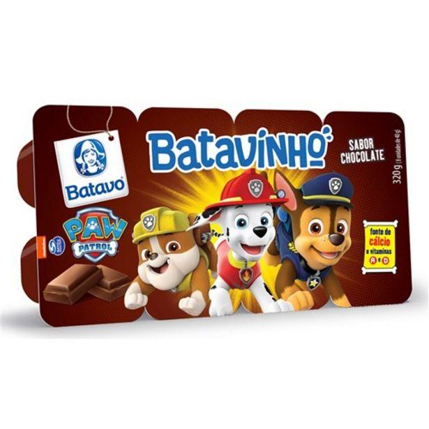 Oferta de Sobremesa Cremosa Batavinho Chocolate 320G por R$6,49
