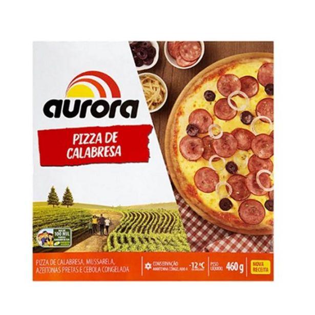 Oferta de Pizza Congelada Aurora Calabresa 440G por R$12,99