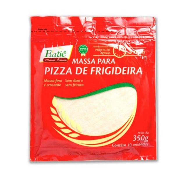 Oferta de Massa de Pizza Batie de Frigideira Pacote 350G com 10 Unidades por R$7,89
