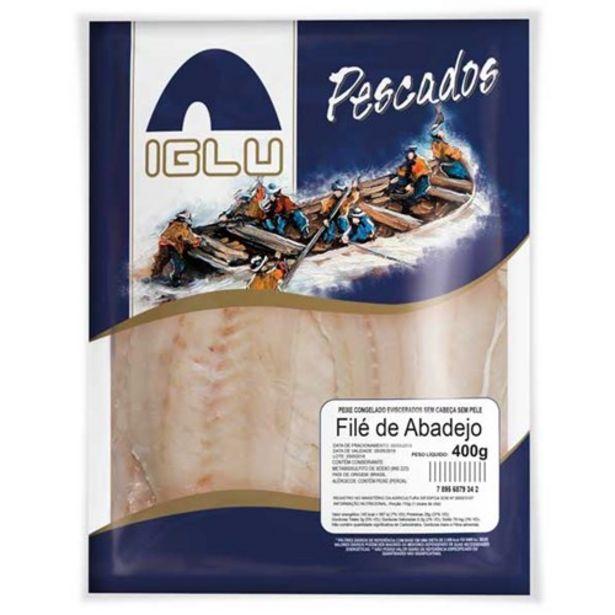 Oferta de Peixe Congelado Filé de Abadejo Iglu Pacote 400G por R$24,9