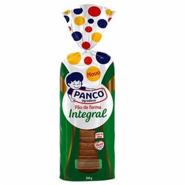 Oferta de Pão de Forma Integral Panco Embagem 500G por R$7,49