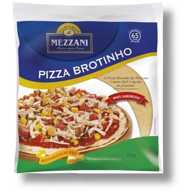 Oferta de Massas Mini Pizza Mezzani Brotinho Embalagem 300G por R$6,79