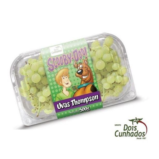 Oferta de Uva Thompson Dois Cunhados Embalagem 500G por R$8,99