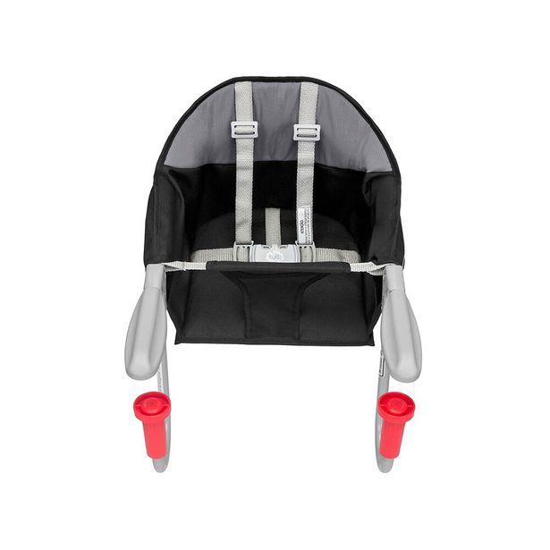 Oferta de Cadeira de Alimentação Fit com Encaixe para Mesa Preta  - Tutti Baby por R$154