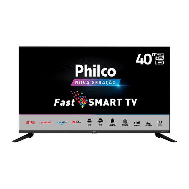 Oferta de Smart TV LED 40 Polegadas PTV40G70N5CBLF Dolby Preta - Philco por R$1899