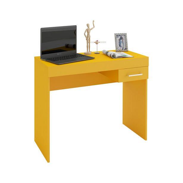 Oferta de Mesa Cooler para Notebook 1 Gaveta Amarelo - Artely por R$209
