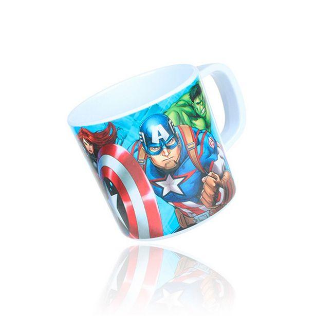 Oferta de Caneca 280ml Avengers DYM045 - Etilux por R$9,99