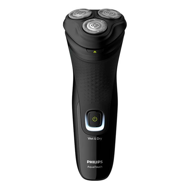 Oferta de Barbeador elétrico AquaTouch 3 perfis Philips Preto por R$249