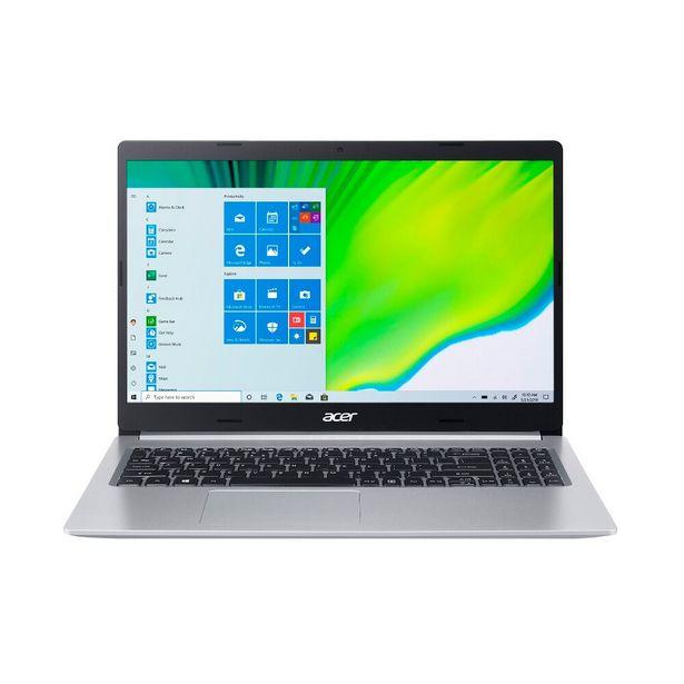 """Oferta de Notebook Acer Aspire 5 A515-54-59X2 10210U Intel Core I5 8GB RAM Tela 15.6"""" - Silver por R$4499"""