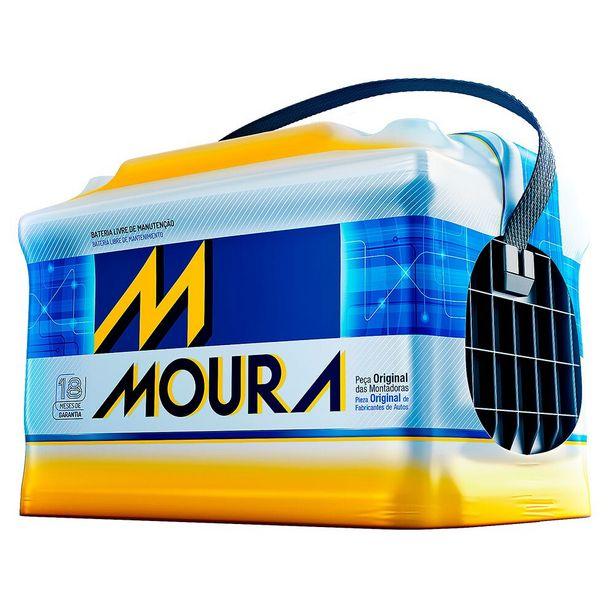 Oferta de Bateria Automotiva Moura M60GD 60AH por R$459