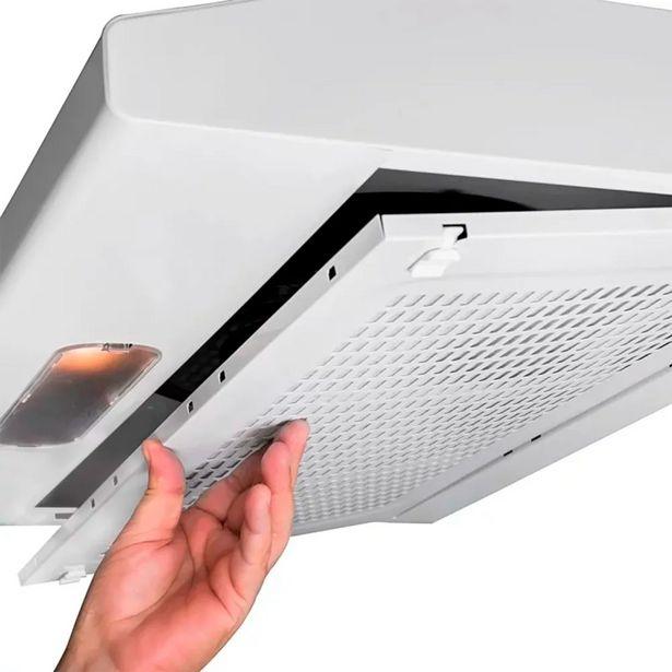 Oferta de Depurador de Ar 60cm 1 Velocidade Suggar Slim DI60BIBR Branco por R$299