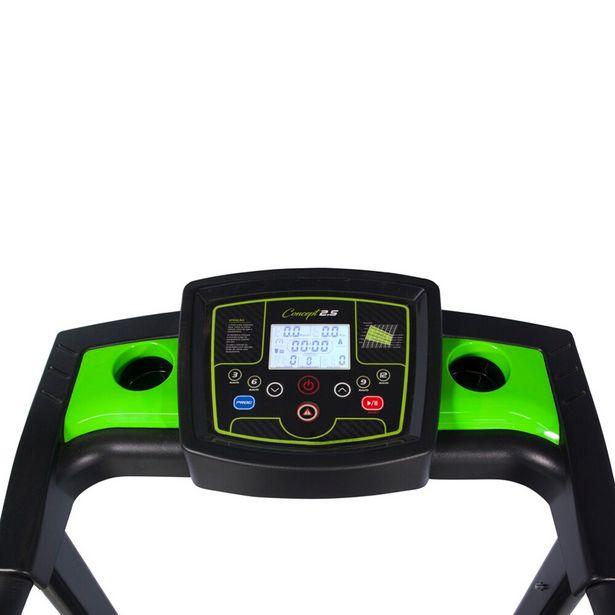 Oferta de Esteira Eletrônica Concept 2.5 Dream Fitness - Preto com Verde por R$3149