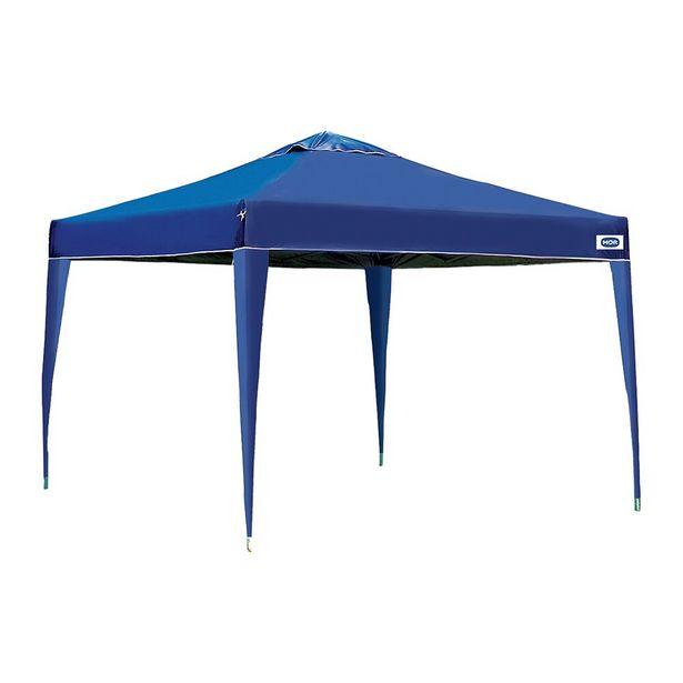Oferta de Gazebo X-Flex Oxford 3x3M 3531 Azul - Mor por R$419