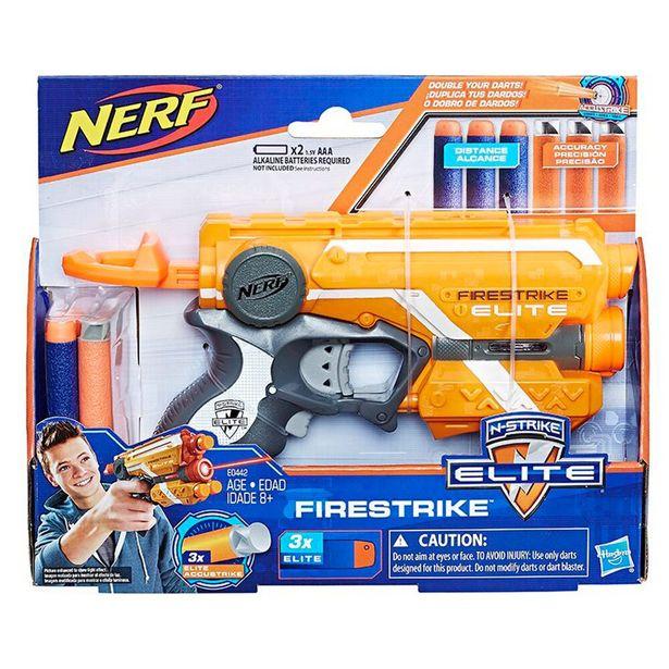 Oferta de Lançador Firestrike E0442 - Hasbro por R$69,99