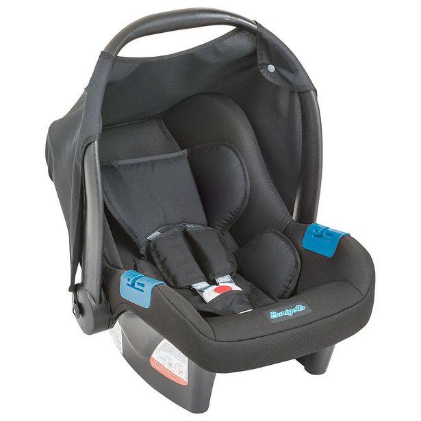 Oferta de Bebê Conforto Touring Evolution Preto - Burigotto por R$299
