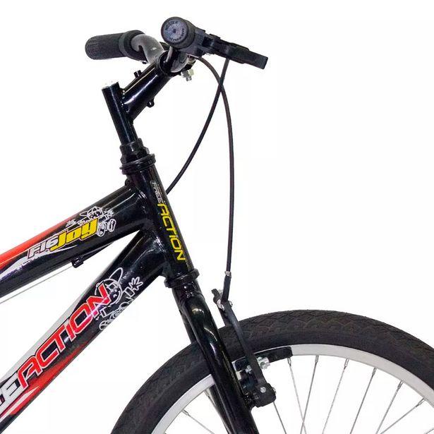 Oferta de Bicicleta Infantil Free Action Joy Aro 20 Quadro Aço de Carbono Preto por R$549