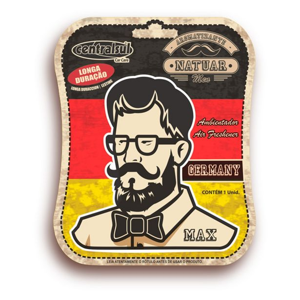 Oferta de Aromatizante Miniatura Max Germany 16695 - Centralsul por R$16,99