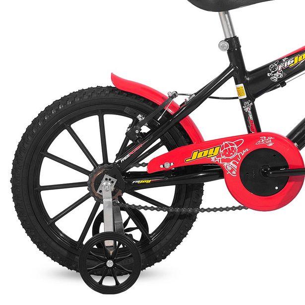 Oferta de Bicicleta Infantil Free Action Mas Joy Aro 16 Quadro Aço de Carbono Preto por R$469