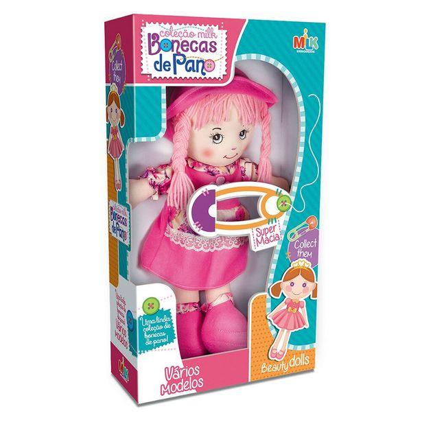 Oferta de Boneca de Pano 908 - Milk Brinquedos por R$63