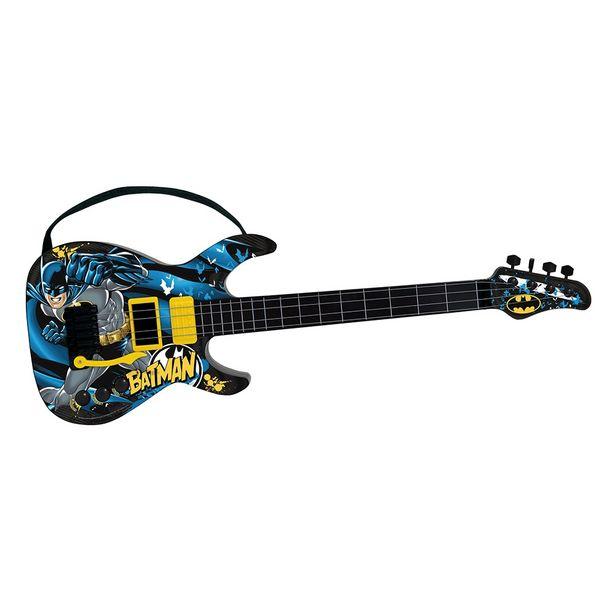 Oferta de Batman Guitarra Infantil Cavaleiro das Trevas 8080-5 - Fun por R$179,99
