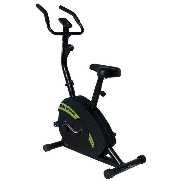 Oferta de Bicicleta Ergométrica Magnética Vertical Concept V1 Dream Fitness Preto por R$849