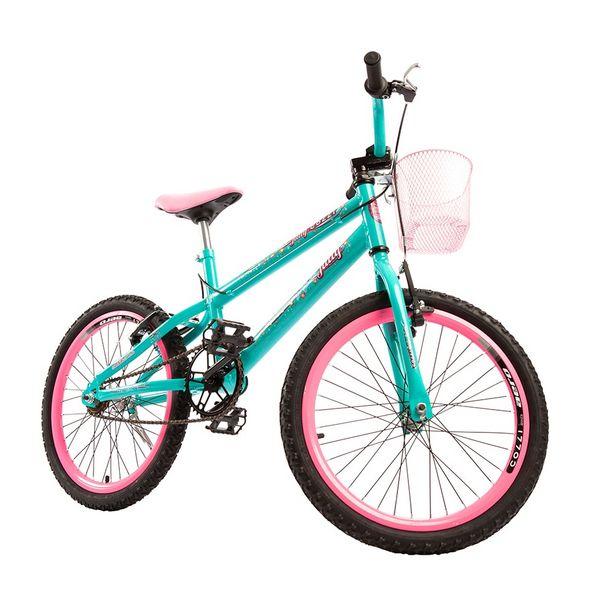 Oferta de Bicicleta Colli Aro 20 Infantil Jully Feminina - Verde Aqua por R$669