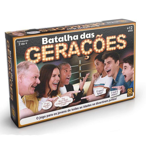 Oferta de Jogo Batalha das Gerações 3583 - Grow por R$64,99