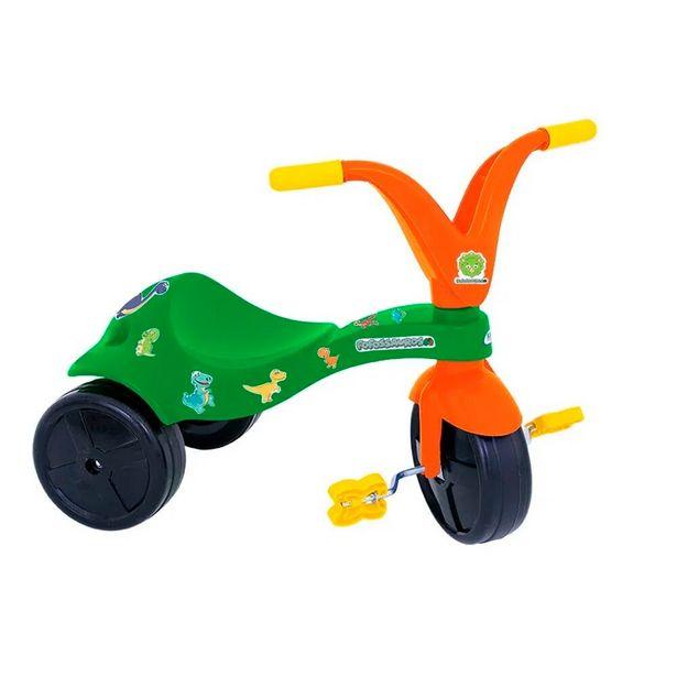 Oferta de Triciclo Fofossauro 0758.8 Verde/Laranja - Xalingo por R$71,99