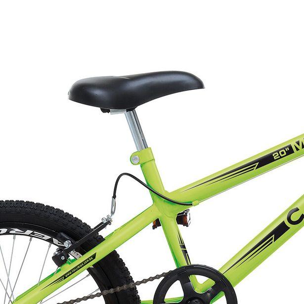 Oferta de Bicicleta Colli Aro 20 Infantil Max Boy Masculina - Amarelo Neon por R$669