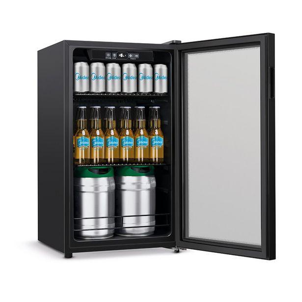 Oferta de Cervejeira Midea 96 Litros Flex BCA10P2 - Preta por R$2249