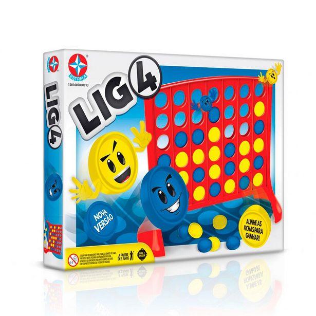 Oferta de Jogo Lig 4 6133 - Estrela por R$49,99